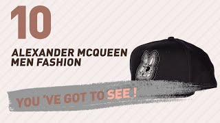 Alexander Mcqueen Men Fashion Best Sellers // UK New & Popular 2017