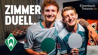 ZIMMERDUELL: Josh Sargent & Jan-Niklas Beste   SV Werder Bremen