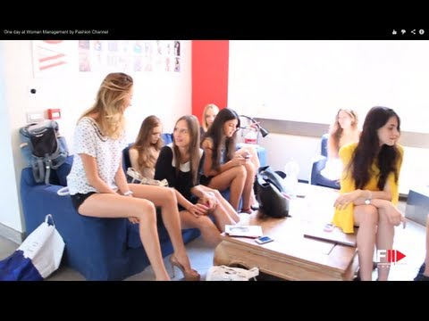 """One day at """"WOMEN MODEL MANAGEMENT"""" and interview with Piero Piazzi  by Fashion Channel"""