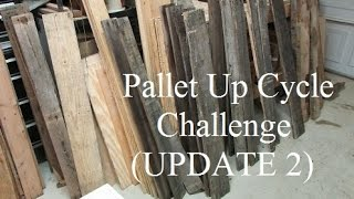 Pallet Up Cycle Challenge Update 2