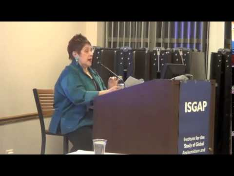 """Phyllis Chesler -- """"The New Anti-Semitism: Reflections After A Decade on the Front Lines"""""""
