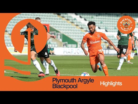 Plymouth Blackpool Goals And Highlights