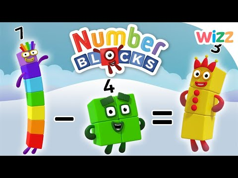 Numberblocks - Learn to Count | Subtracting Numbers