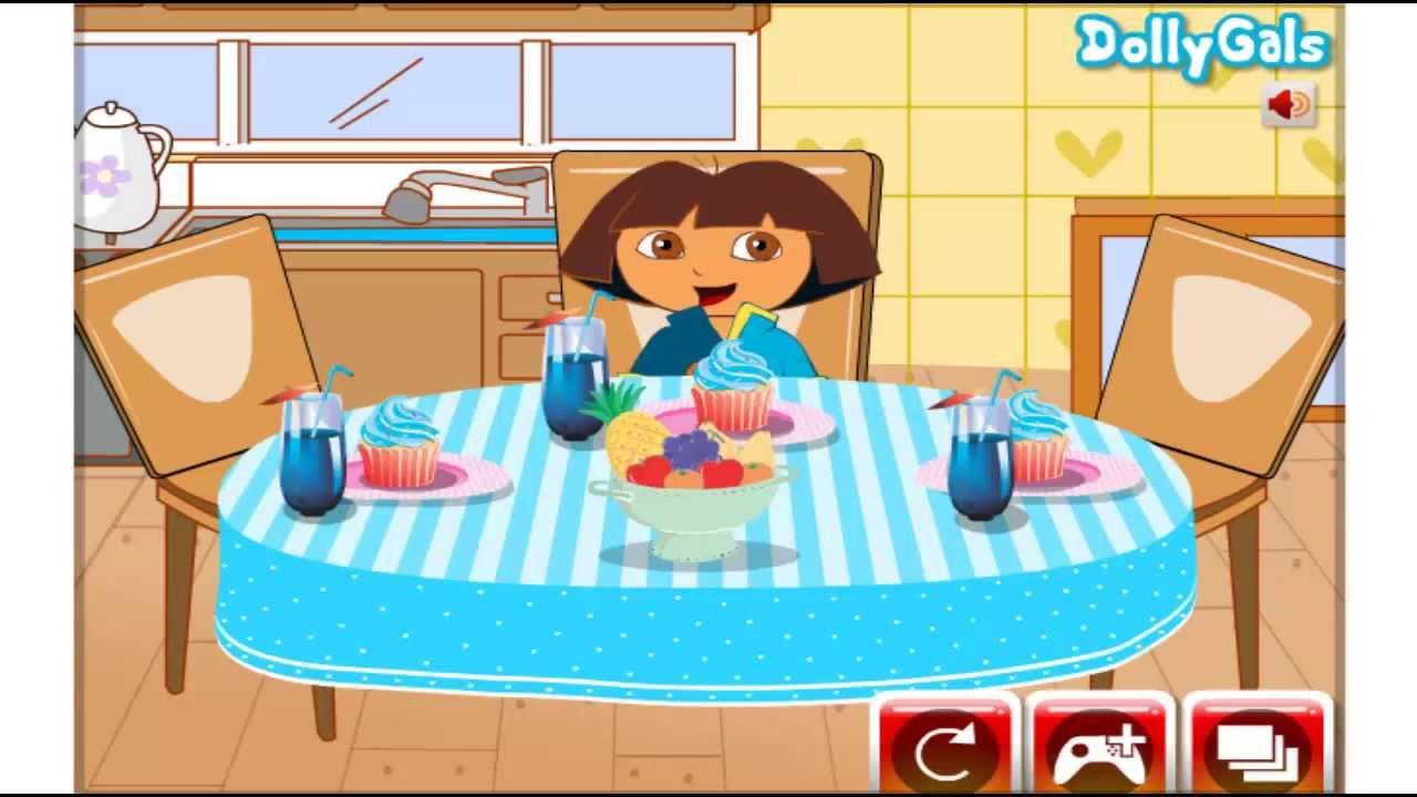 Dora in the Kitchen, Dora Kitchen, Dora in the Restaurant - YouTube