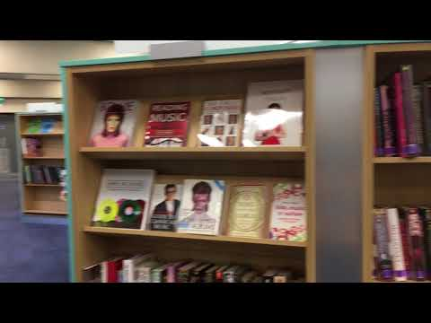 Behind the scenes at Oxfordshire's County Library