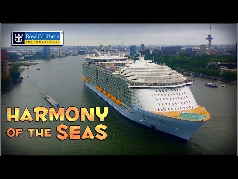 Harmony of the Seas -  24-5-2016 @ Rotterdam port - Departure