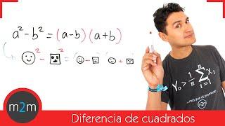 * Factorización: diferencia de cuadrados
