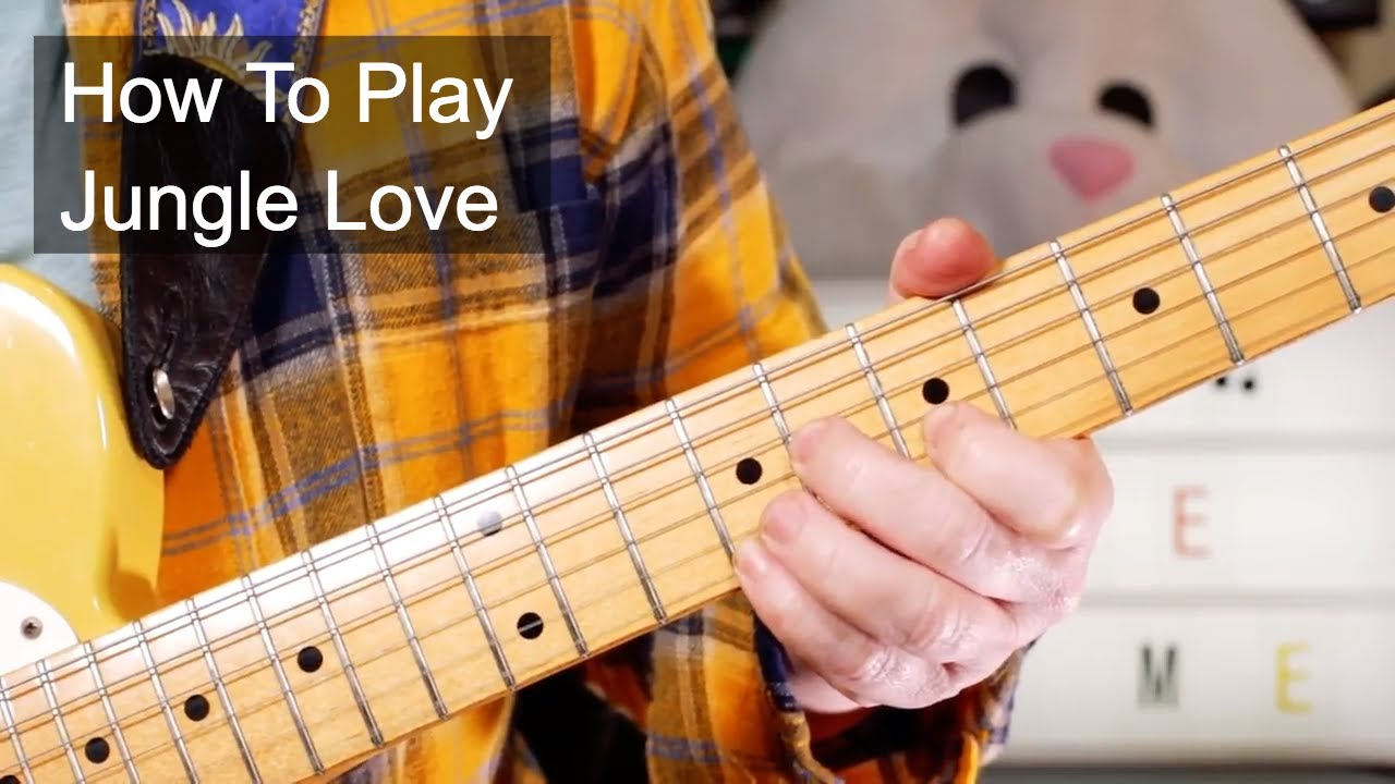 how to play jungle love on guitar