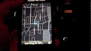 Google Maps Navigation on BlackBerry 10 Free HD Video