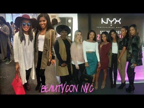 New York VLOG: BeautyCon +TURN UP!
