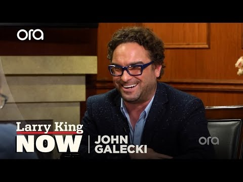 Who's The Biggest Flirt On The Set Of 'The Big Bang Theory'? | Larry King Now | Ora.TV