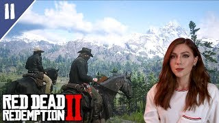 Robbing, Herding and Shooting / Micah, John & Dutch | Red Dead Redemption 2 Pt. 11 | Marz Plays