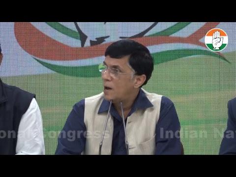 AICC Press briefing by Pawan khera on Modi govt's complicity in fraudster Mehul Choksi's escape