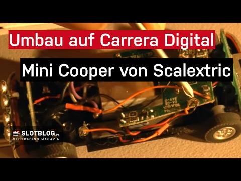 Umbau auf Carrera Digital 132: Mini Cooper von Scalextric