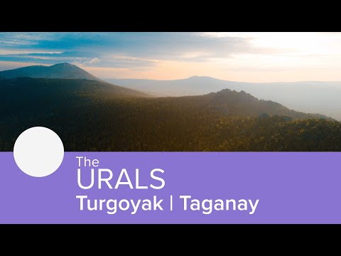 The Urals: Turgoyak | Taganay 4K drone footage
