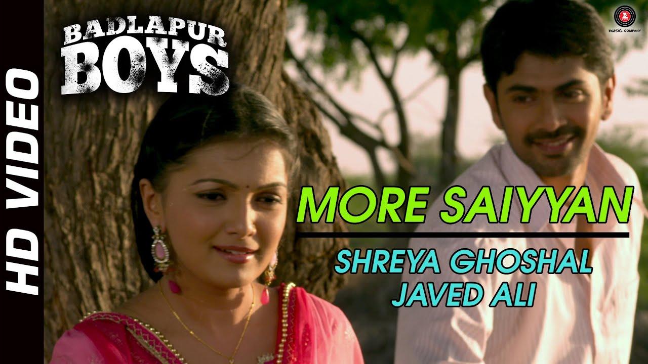 Download More Saiyyan Official Video HD | Badlapur Boys | Shreya Ghoshal & Javed Ali | Nisshan Nanaiah