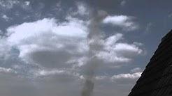 Windhose, kleiner Tornado in Haltern am See am 16.04.2011, Teil 1
