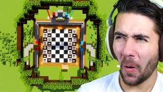 Minecraft Chess, but YOU'RE the pieces