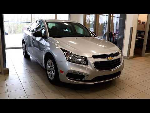 2016 Chevrolet Cruze Limited LS Review Fort Saskatchewan, Alberta