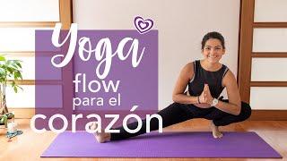 Yoga - Flow para el corazón | Paloma & Caramelos