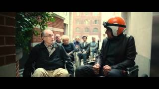 Johnny English Reborn : Wheel Chair Hands up!