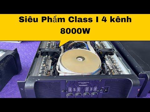 Đẩy 4 kênh Famousond MA8004 (Max8000W) Đỉnh cao công nghệ Class i  LH 0978790655