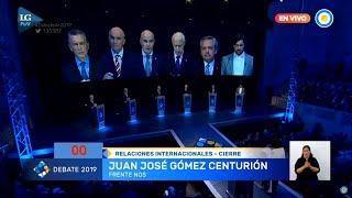 Las perlitas y chicanas de los candidatos en el debate presidencial