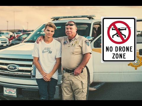 Illegal drone flying got us arrested in Grand Canyon | 005