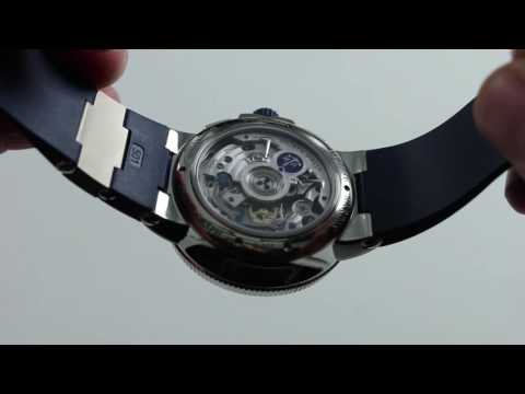 Pre-Owned Ulysse Nardin Marine Chronograph Manufacture Luxury Watch Review