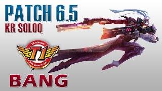 SKT T1 Bang - Lucian Bot Lane - KR SoloQ