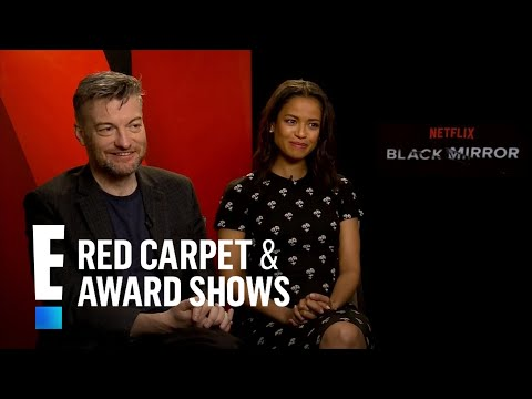 """Gugu Mbatha-Raw & Charlier Brooker Talk """"Black Mirror"""" 