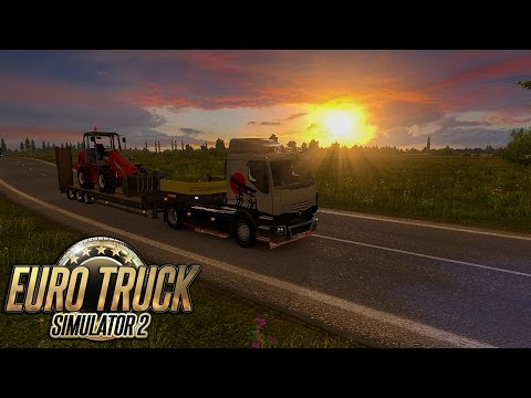 Euro Truck Simulator 2 - #195 - Renault Premium - Brown Interior [ProMods - Lithuania and Latvia]