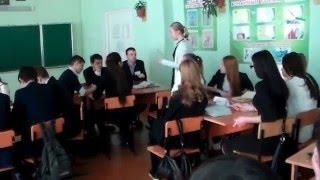 Торопчина Л. В. Видеофрагменты  урока литературы в 10 классе