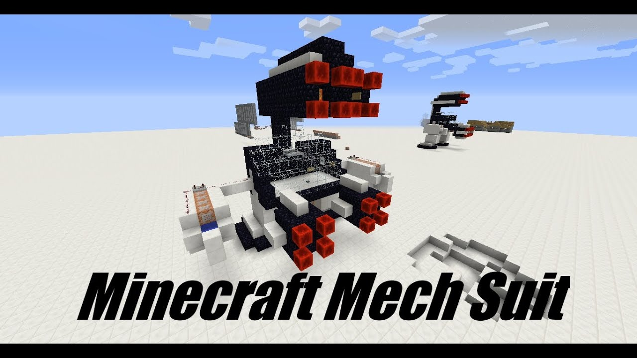 Minecraft Mech Schematic Wire Center Need The Wiring Diagram For A 1970 Evinrude 40073a Ser E0236 Tutorial Suit Robot In 1 8 Youtube Rh Com Briggs And Stratton Carburetor Mechanical Schematics