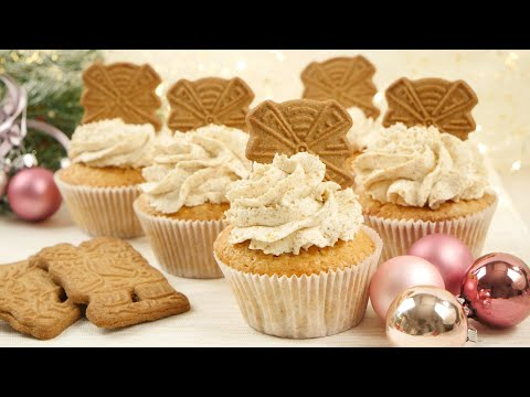 Spekulatius Cupcakes - Winterliche Cupcakes zu Weihnachten