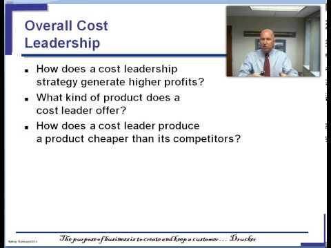Chap 5 Cost Leadership