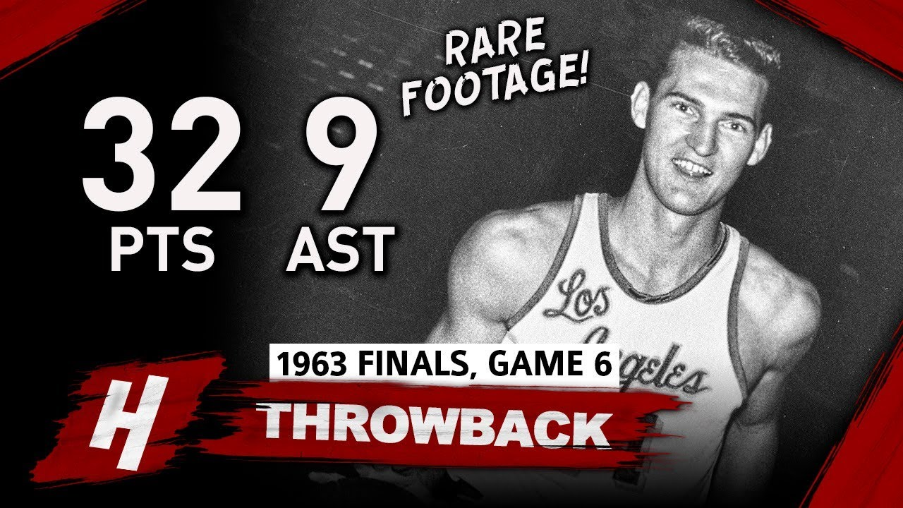 super-rare-jerry-west-game-6-highlights-vs-celtics-1963-nba-finals-32-pts-7-reb-9-assists