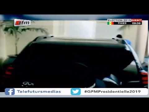 Présidentielle 2K19 : Le candidat Idrissa SECK en partance pour son bureau de vote