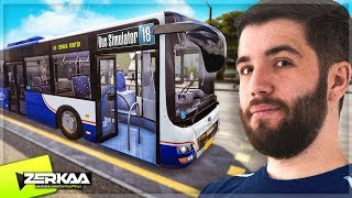 THE BEST BUS DRIVER ON YOUTUBE! (Bus Simulator 18 with Tobi)