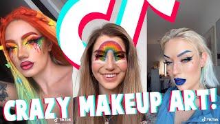Crazy Makeup Art I Found On TikTok