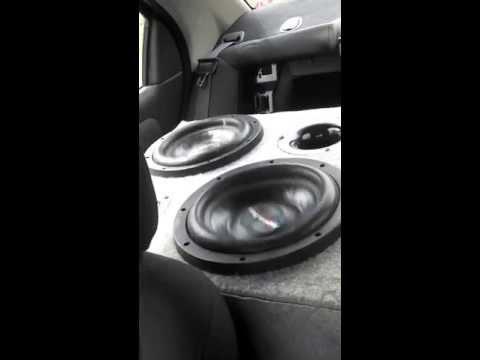 4 American Bass Xfl 10's On A Hifonics 2400