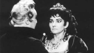 """Tito Gobbi & Maria Callas AIDA """"Ciel! Mio padre!"""