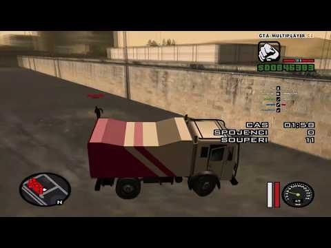 Nový event Dune vs runners / GTA SAN ANDREAS MULTIPLAYER WTLS