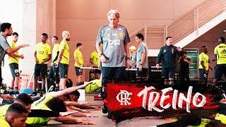 Jorge Jesus comanda primeiro treino no Flamengo