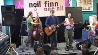 Neil Finn at Seattle Tower Records Part 2 - Driving Me Mad
