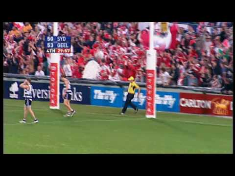 Minutes Before Nick Davis' GOAL v Geelong | 2005 Semi Final  [HD]