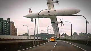 Airplane Crashes in Taiwan