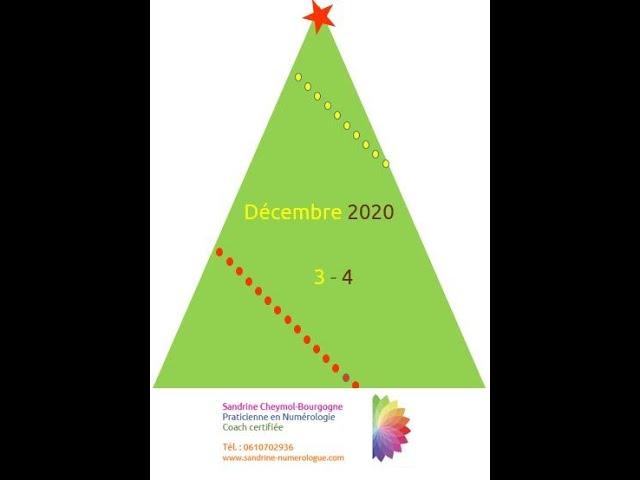 Les énergies de décembre 2020 en numérologie