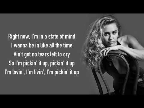 Ariana Grande - No Tears Left To Cry (Mark Ronson Ft. Miley Cyrus Cover) [Full HD] Lyrics