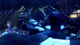 "Drummer Rich Redmond performs ""When She Says Baby"" with Jason Aldean at The Houston Rodeo 2014!"